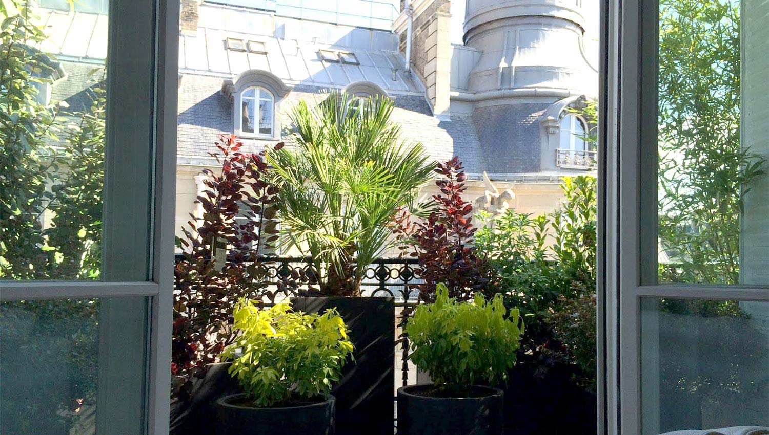 Urban green un jardin vos fen tres paysagiste paris - Amenagement balcon paris ...