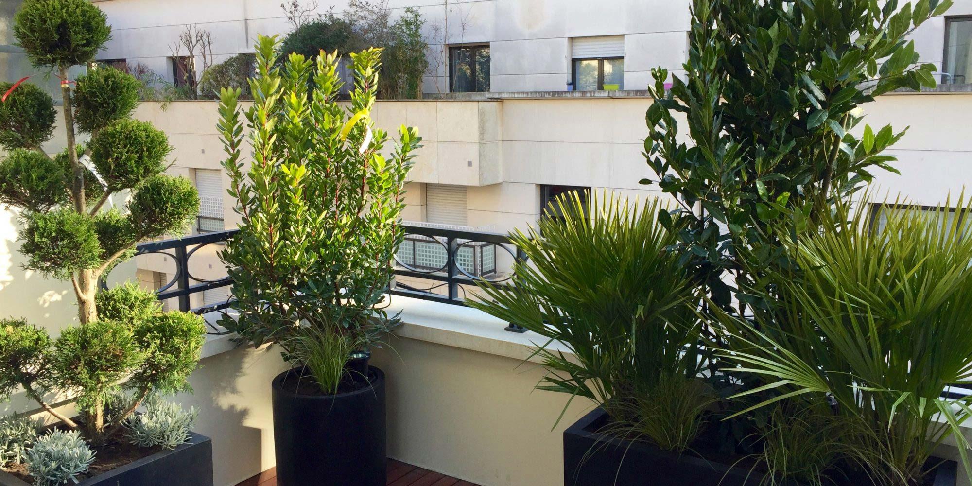 Nos réalisations : des balcons urban green